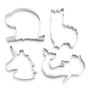 Whimsy Cookie Cutters, Set of 4