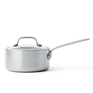 GreenPan Craft Steel Covered Saucepan, 3.3 qt.