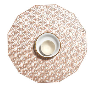 Chilewich Kaleidoscope Placemat, Pink Champagne