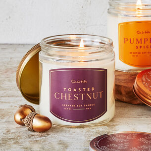 Toasted Chestnut Scented Candle, 10.9 oz.