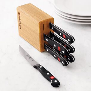 Wüsthof Gourmet 7-Piece Steak Knife Block Set