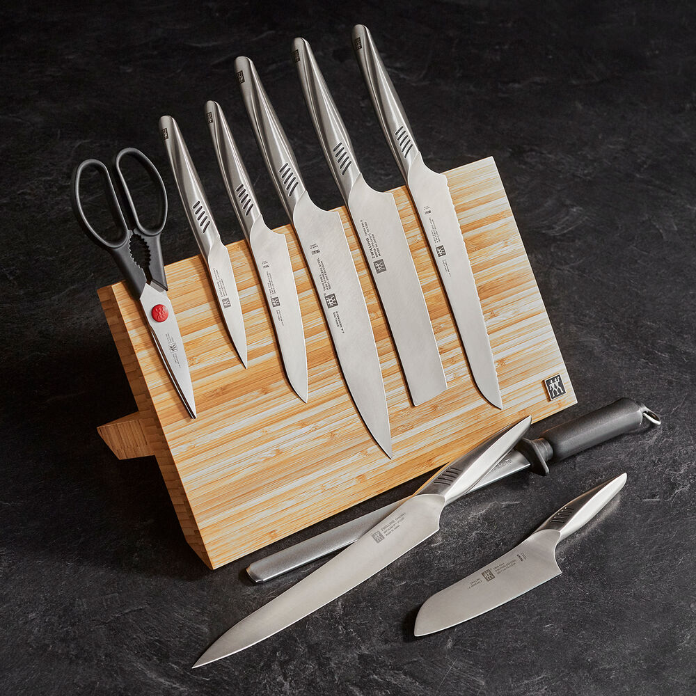 Zwilling J.A Henckels Twin Fin II 10-Piece Knife Set with Magnetic Easel