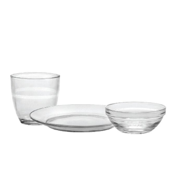 Duralex Gigogne, Kids' Tableware, Set of 12