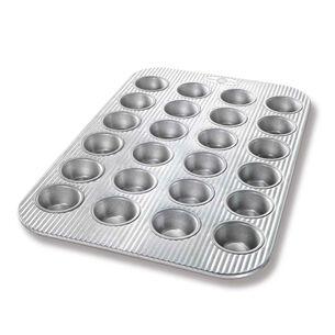 USA Pan Mini Muffin Pan, 24 Count