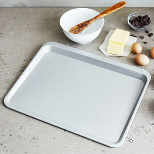 "Sur La Table Classic Scoop Cookie Half Sheet Pan, 18"" x 14"""