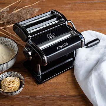 Marcato Atlas Black Pasta Machine, 150mm