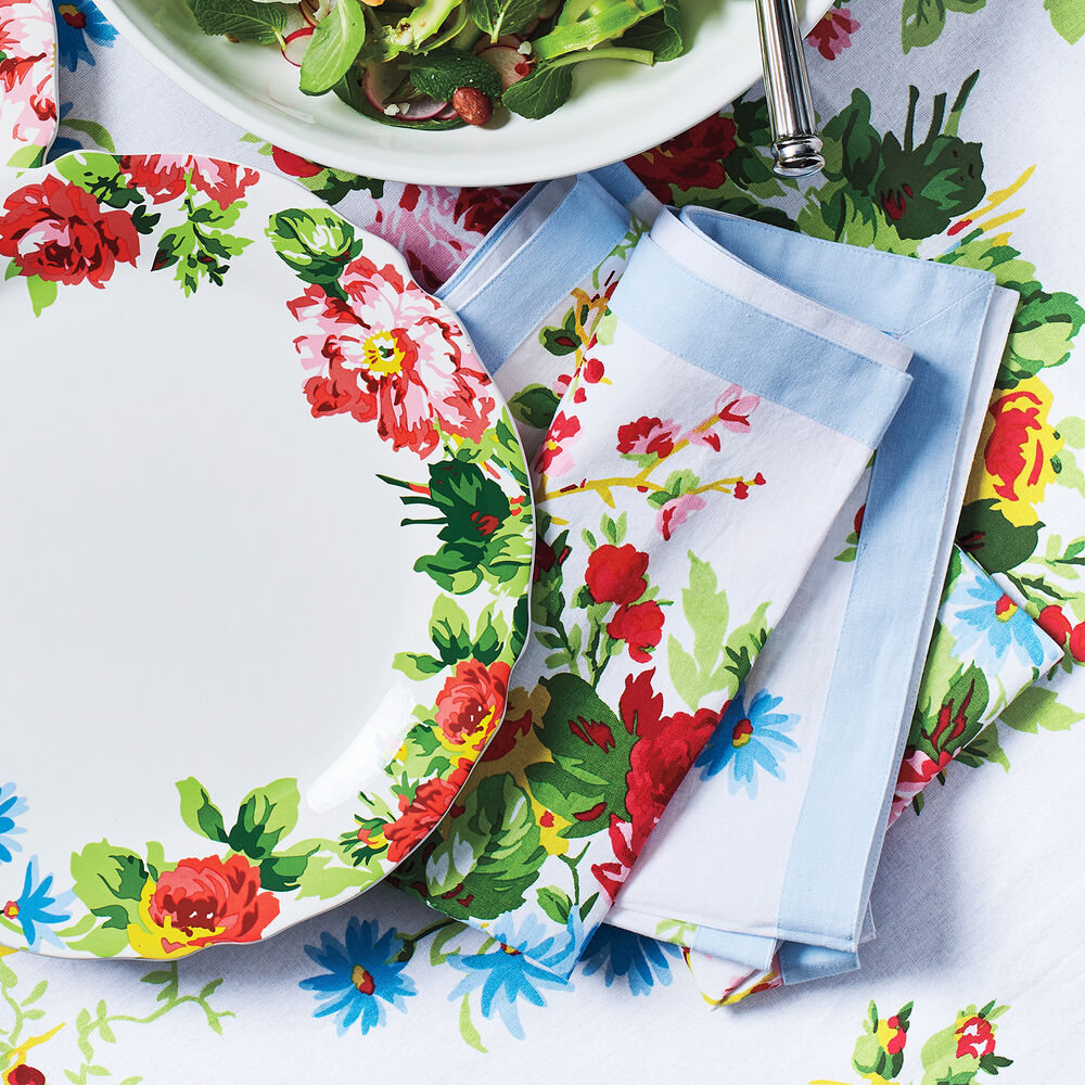 Rose Garden Napkins by April Cornell, Set of 4