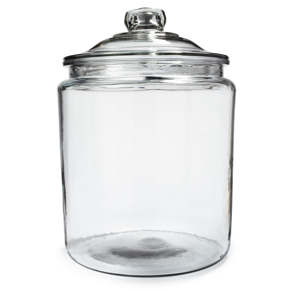 Anchor Hocking Glass Heritage Jars