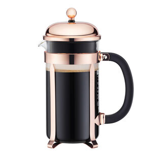 Bodum Chambord Copper French Press, 8 Cup