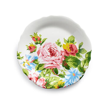 Rose Garden Dinnerware by April Cornell, Set of 12