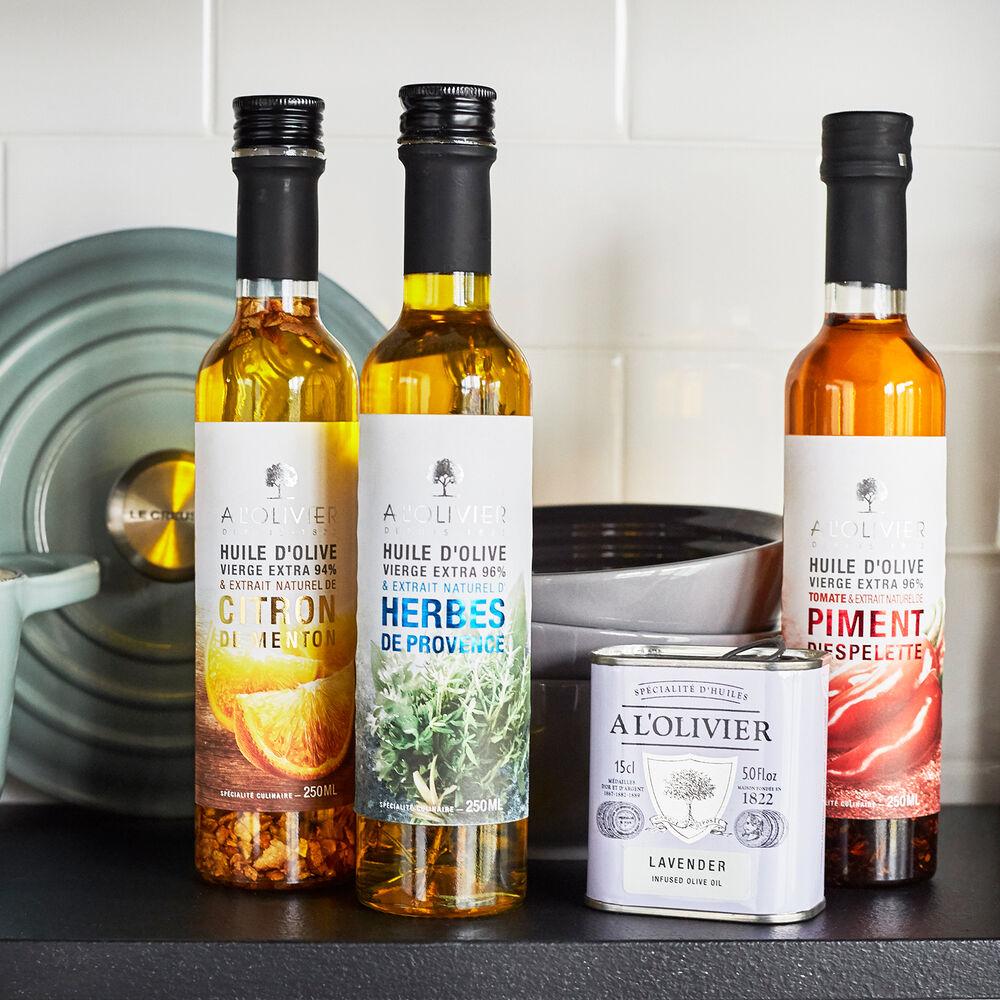A L'Olivier Herbes de Provence Extra Virgin Olive Oil, 8.5 oz.