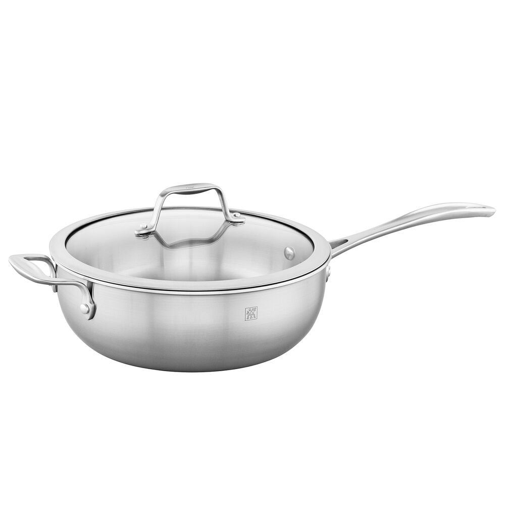 Zwilling Spirit Stainless Steel Perfect Pan, 4.6 qt.