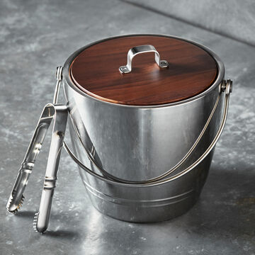 Crafthouse by Fortessa Stainless-Steel Ice Bucket