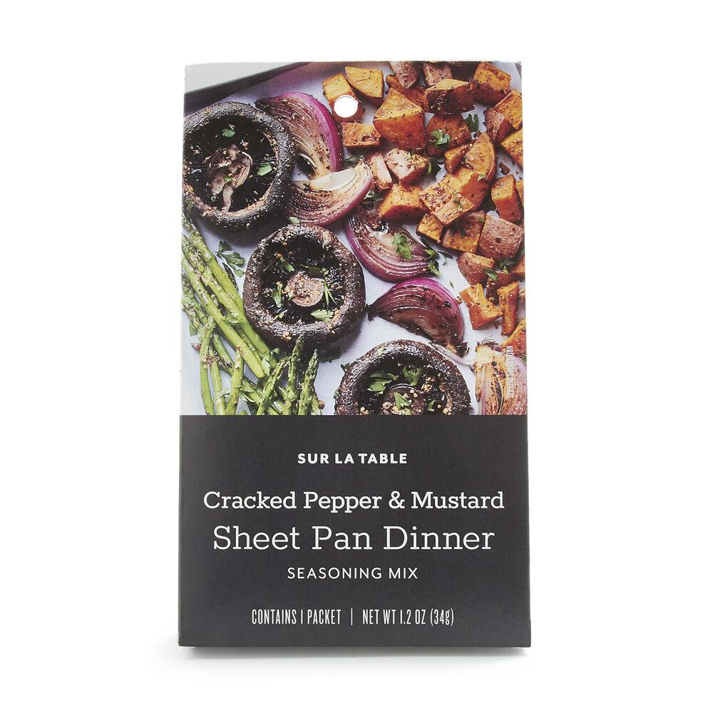 Sur La Table Cracked Pepper and Mustard Sheet Pan Seasoning Mix, 1.2 oz.