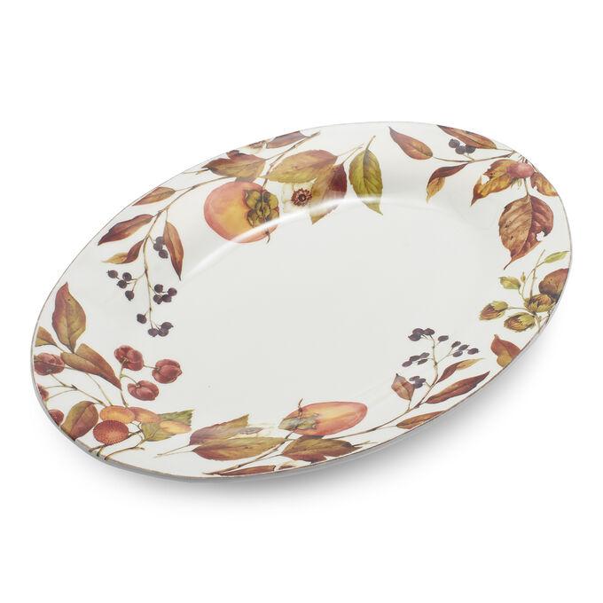 Foraged Oval Platter