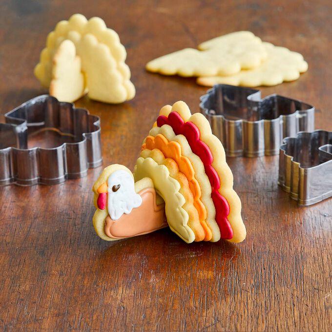 Sur La Table 3D Turkey Cookie Cutter Set