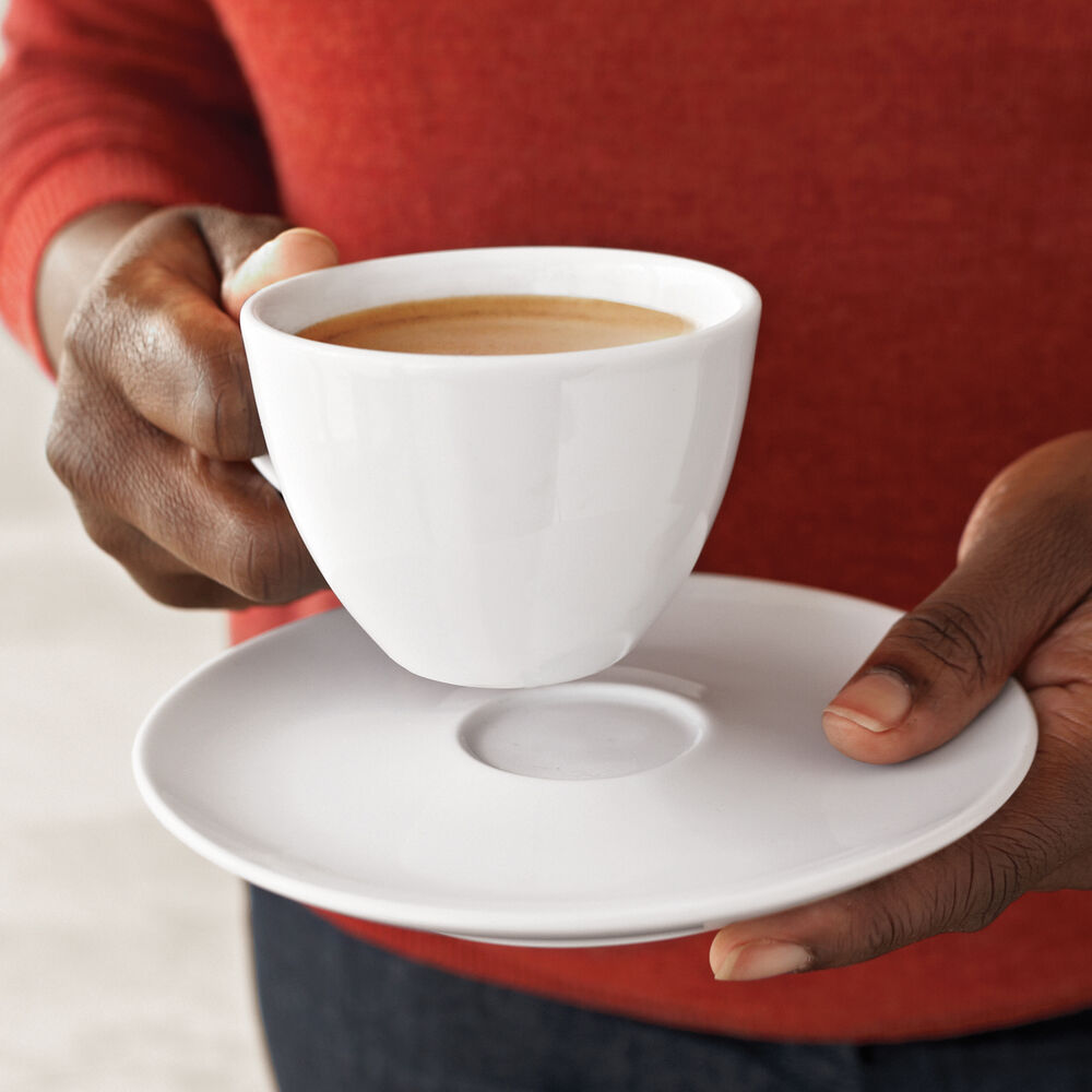 Café Collection Bistro Cup and Saucer, 5 oz.