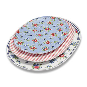 Summerhouse Platters, Set of 3