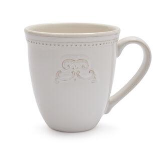Pearl Stoneware Medallion Mug