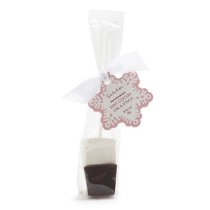 Peppermint Hot Cocoa on a Stick