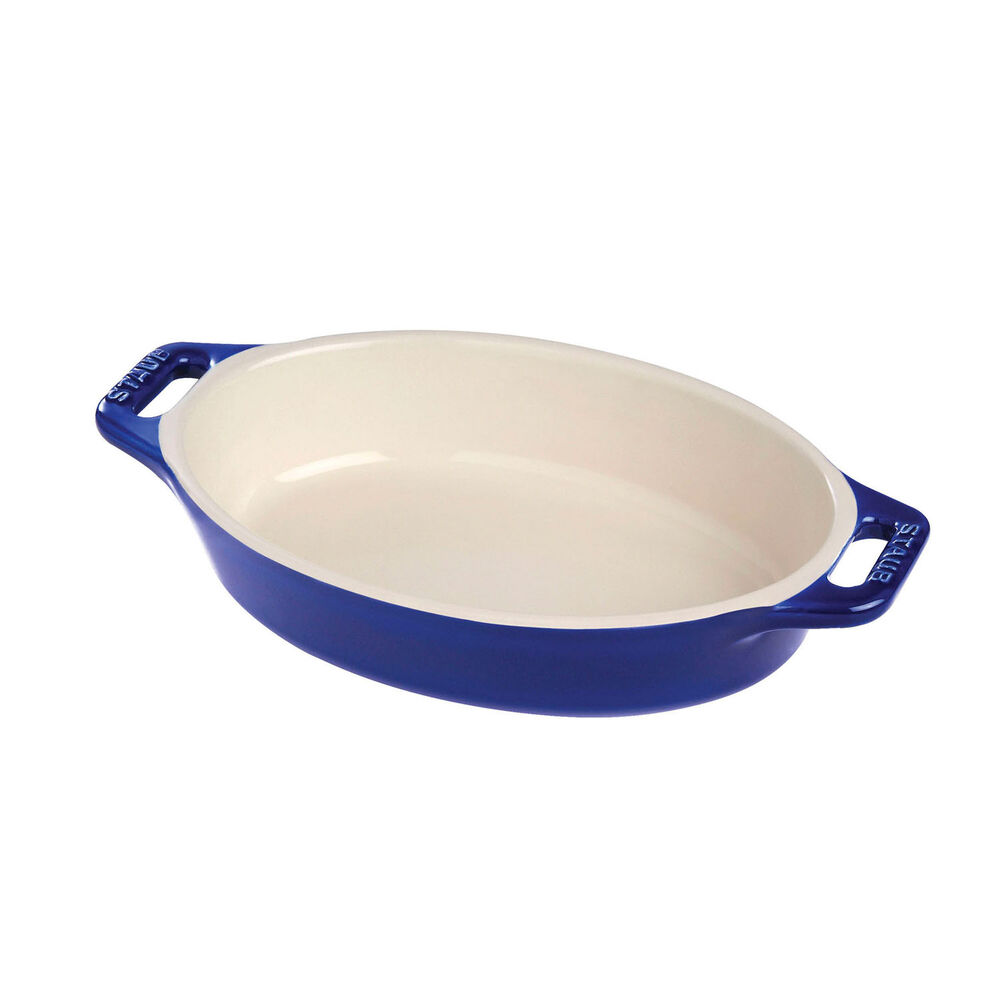 Staub Ceramic Oval Baking Dish, 9.5""