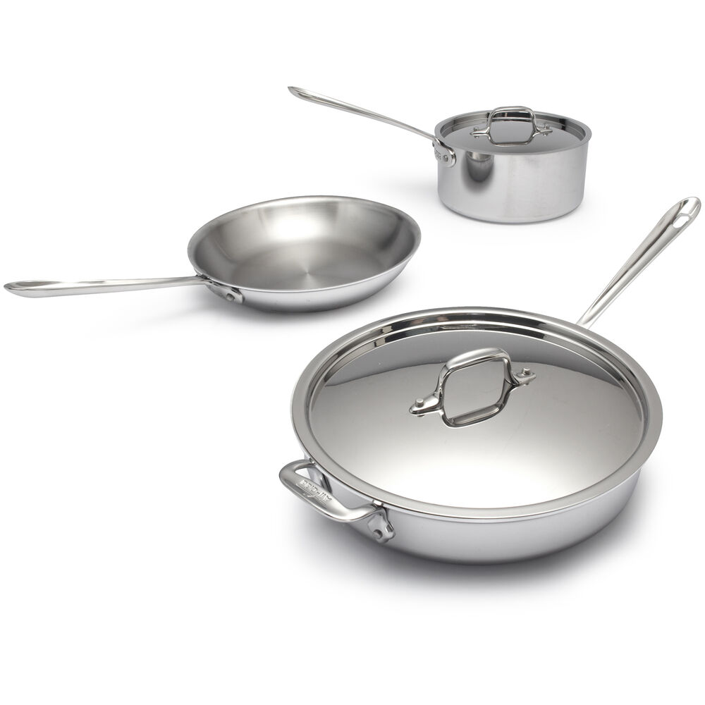 All Clad D3 Stainless Steel 5 Piece Set