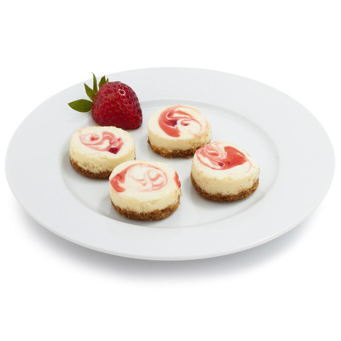 Mini Assorted Tropical Cheesecakes, 40 Pieces