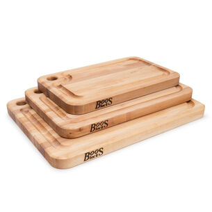 John Boos Edge-Grain Maple Prestige Cutting Boards