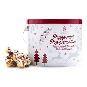 Saxon Chocolate Popcorn Peppermint Pail