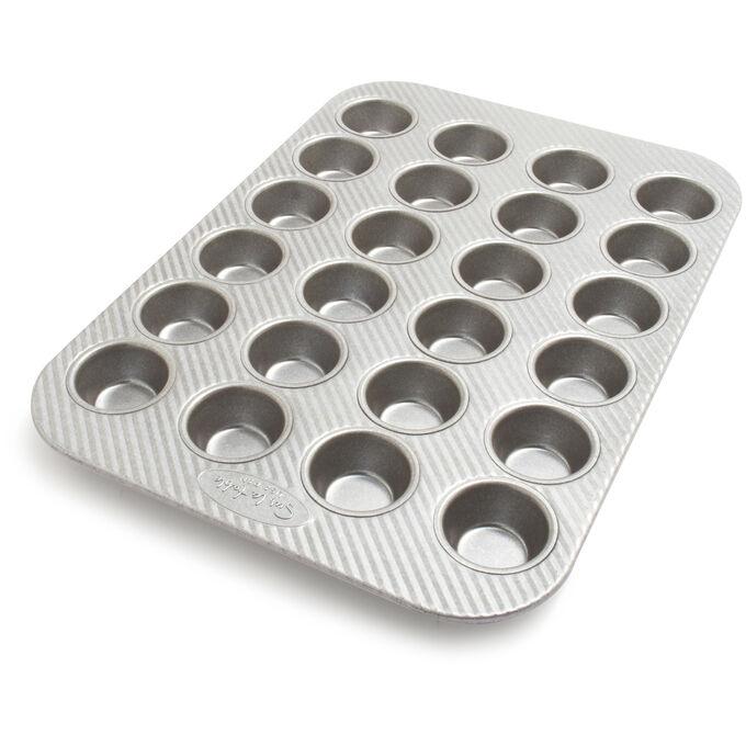 Sur La Table Platinum Professional Mini Muffin Pan, 24 Count