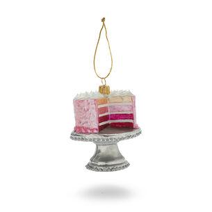 Layer Cake Glass Ornament