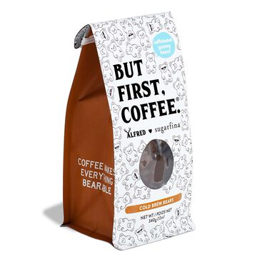 Sugarfina Cold Brew Bears Mini Coffee Cup and Coffee Bag Kit