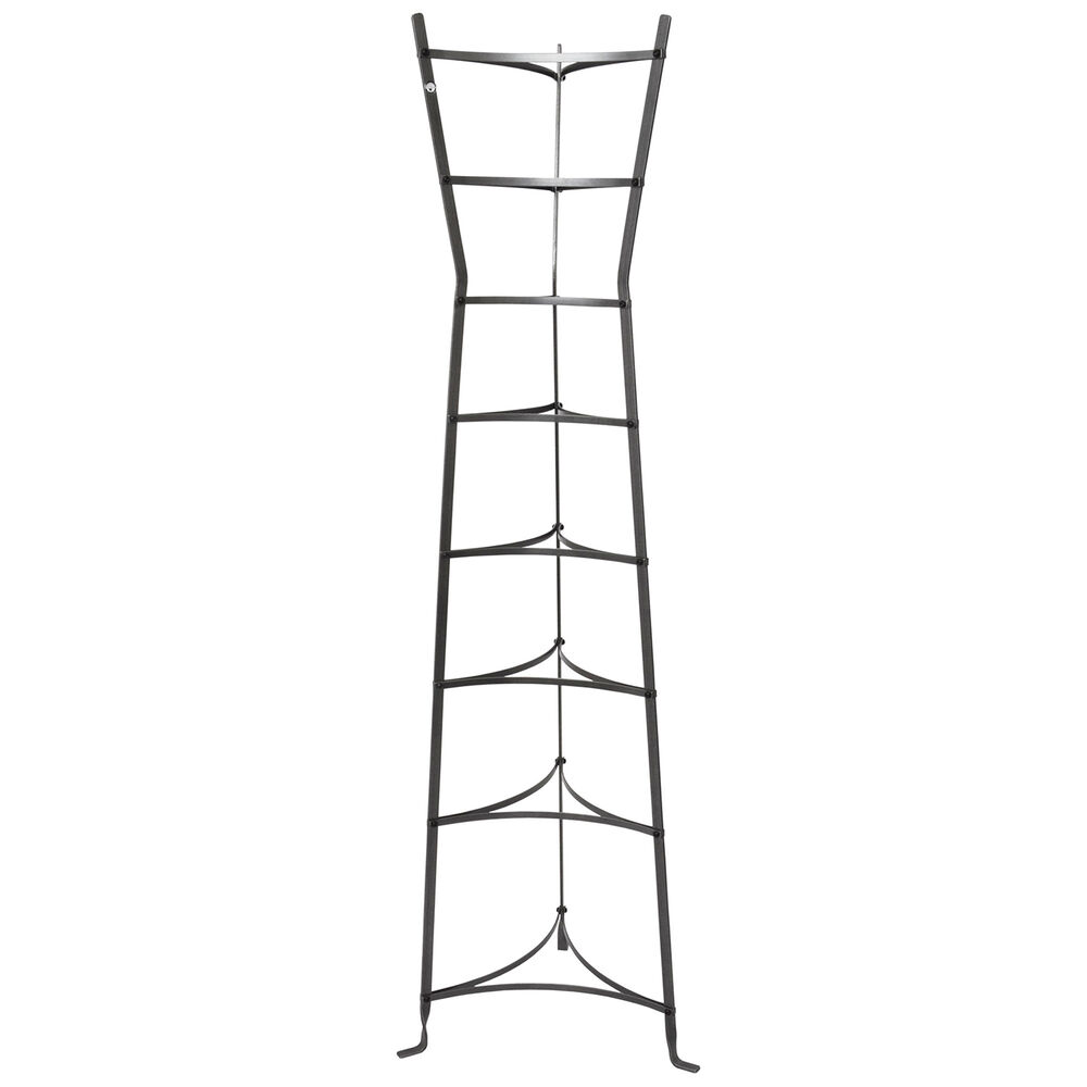 Enclume Handcrafted 8-Tier Hourglass Hammered Steel Stand