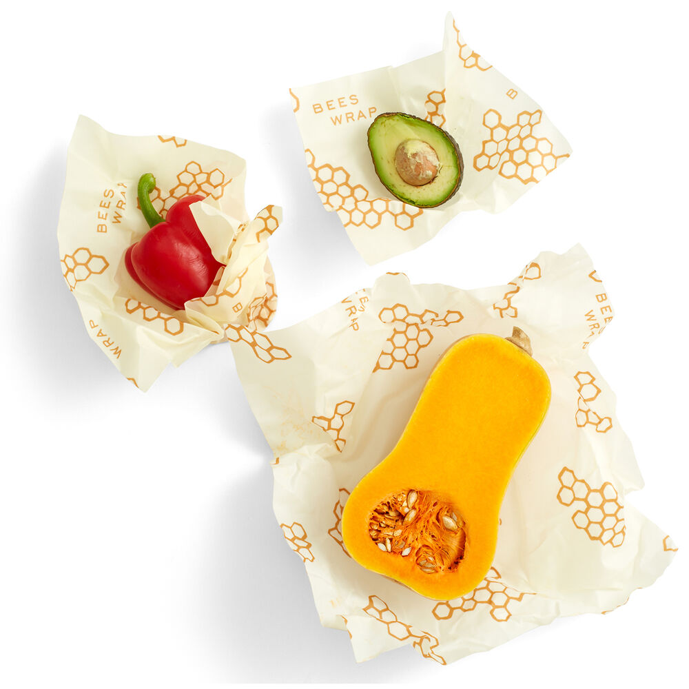 Bee's Wrap Assorted Wraps, Set of 3