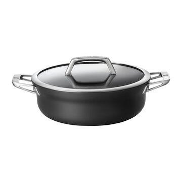 Zwilling Motion Hard-Anodized Aluminum Nonstick Chef's Pan, 4 qt.