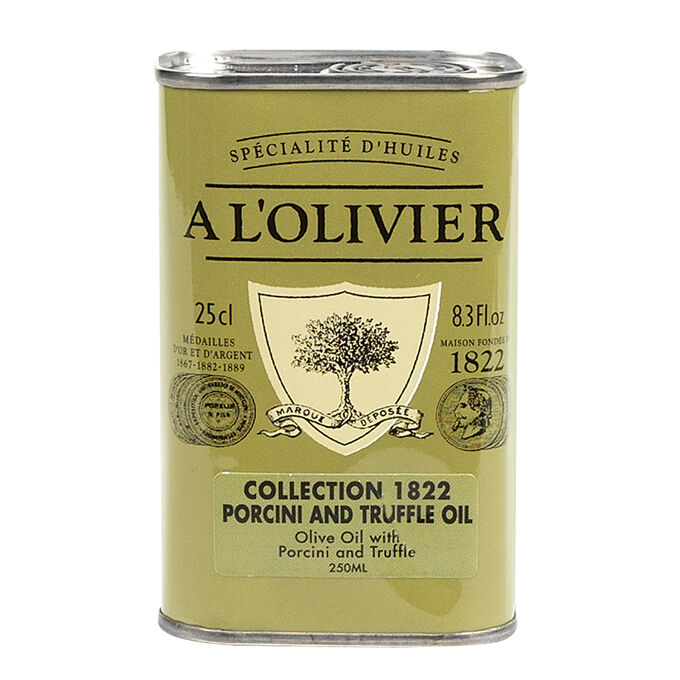 A L'Olivier Porcini and Truffle Olive Oil, 8.3 fluid oz.