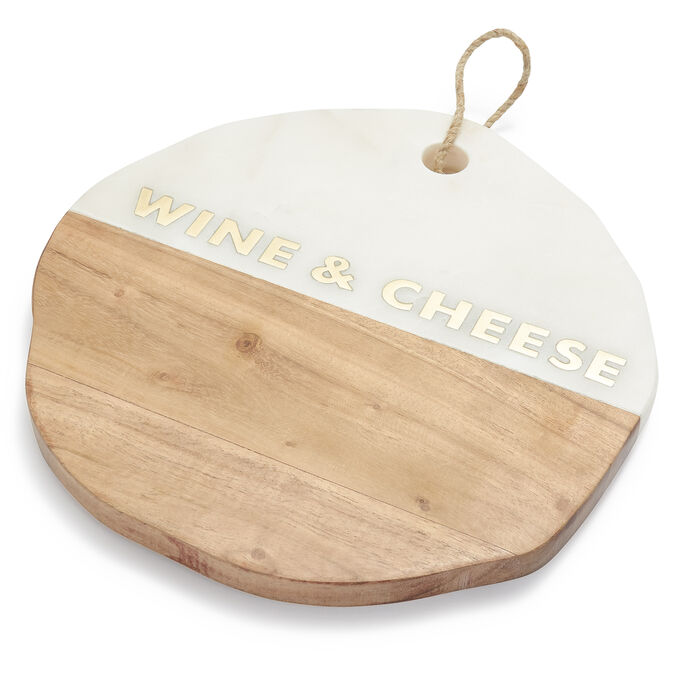 Wine and Cheese Serving Platter