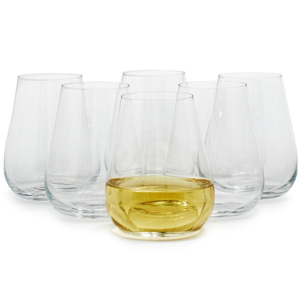Schott Zwiesel Air Stemless White Wine Glasses