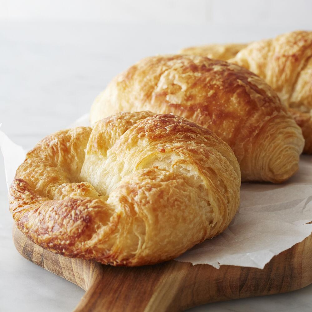 Gaston's Bakery Plain and Chocolate Croissants, Set of 15