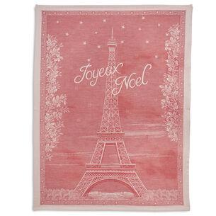 Joyeux Noel Christmas Jacquard Towel