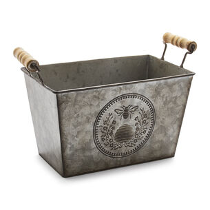 Galvanized Bee Bucket