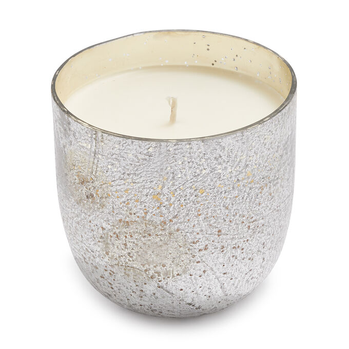 Balsam & Clove Mercury Glass Soy Candle, 20 oz.