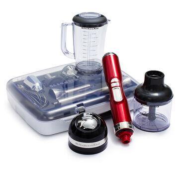 KitchenAid® Pro Line® Cordless Hand Blender, Red