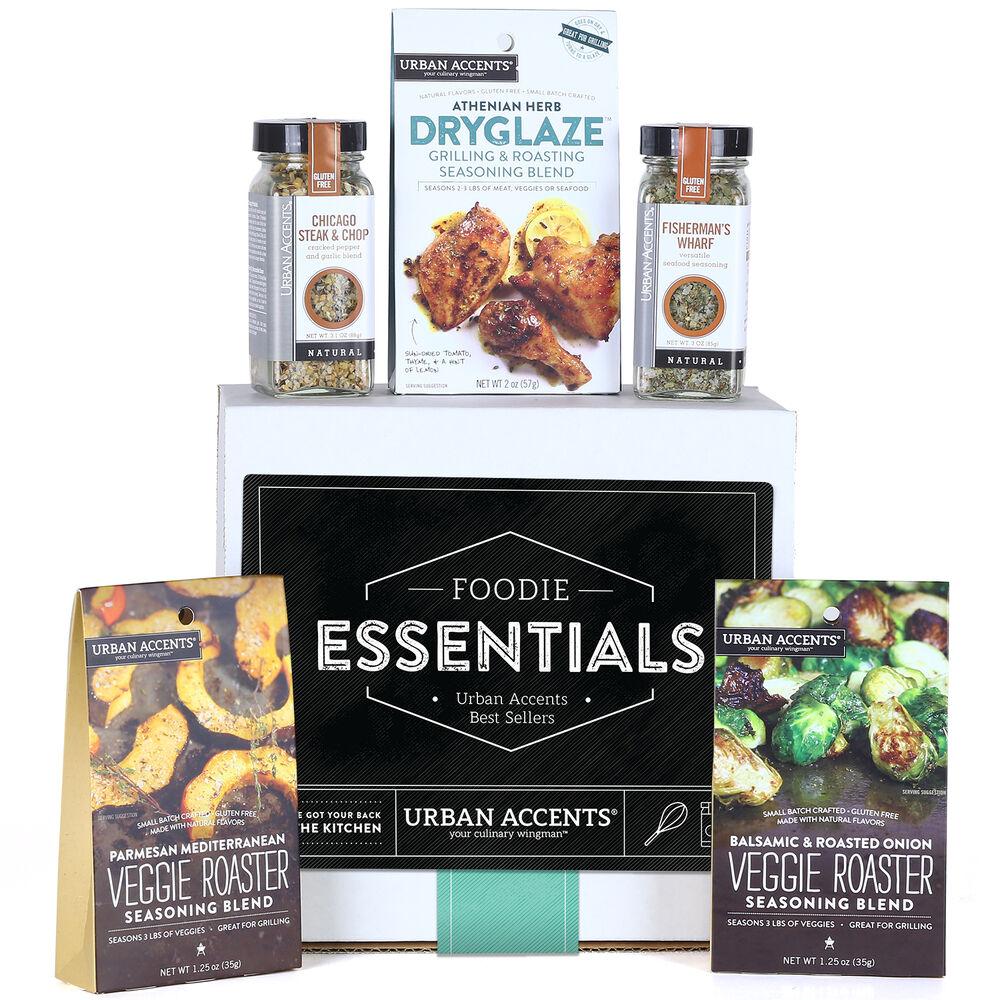 Foodie Essentials Seasoning Blends Gift Set
