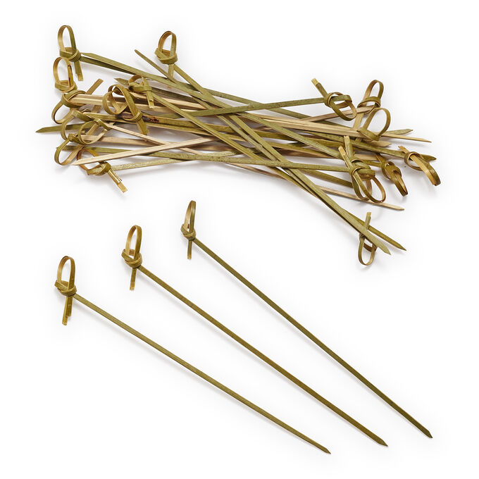 Sur La Table Knotted Bamboo Skewers, Set of 24