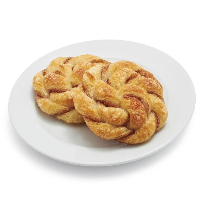 Gaston's Bakery Cinnamon Swirl Croissants, Set of 12