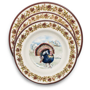 Turkey 12-Piece Dinnerware Set