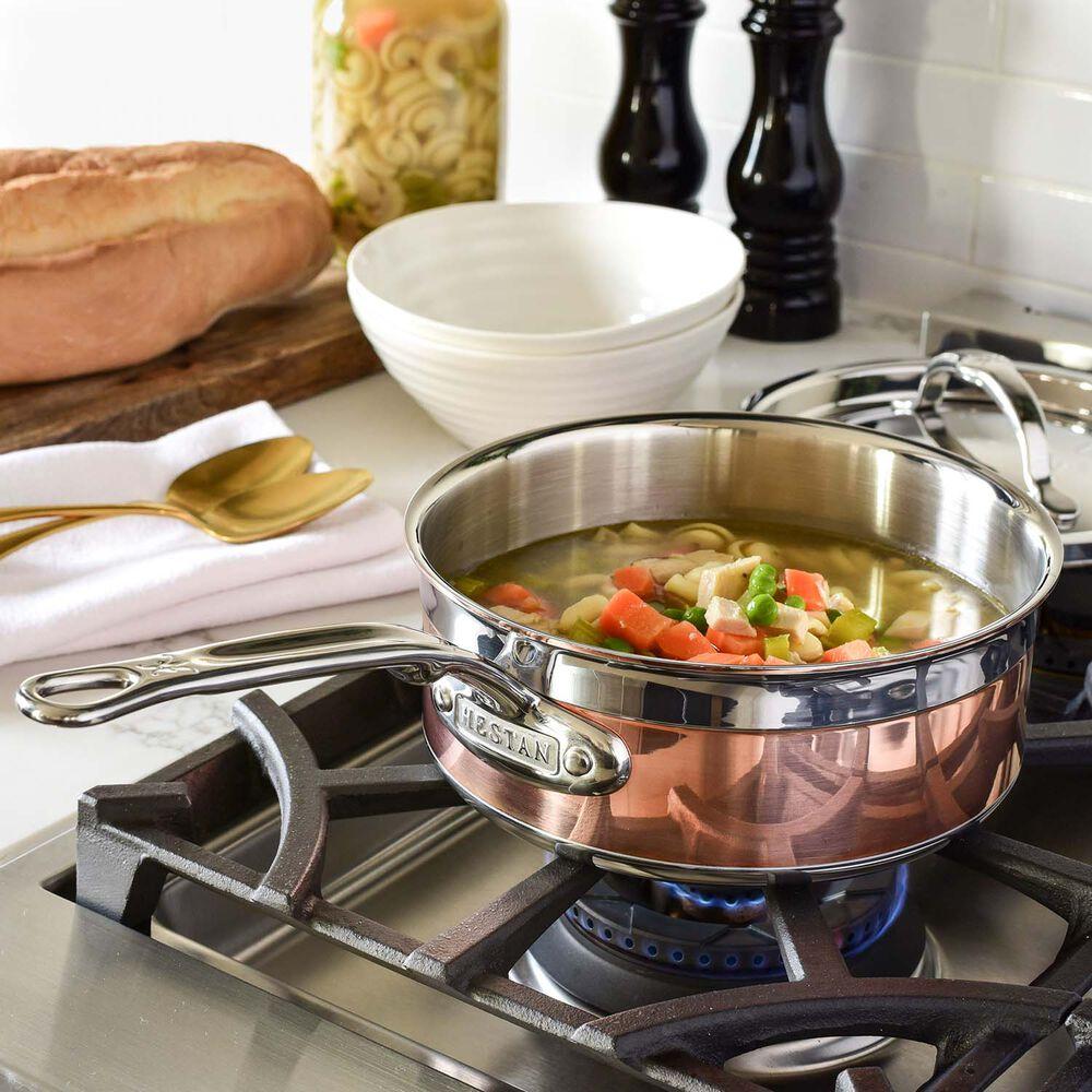 Hestan CopperBond Saucepans