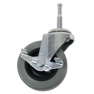 """John Boos & Co. Commercial Grade Locking Casters, 2.5"""""""