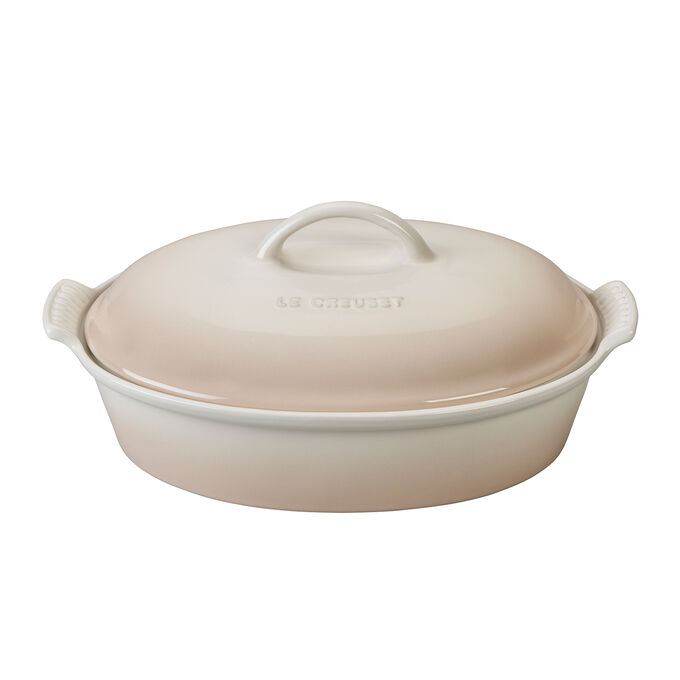 Le Creuset Heritage Covered Oval Casserole, 4 qt.